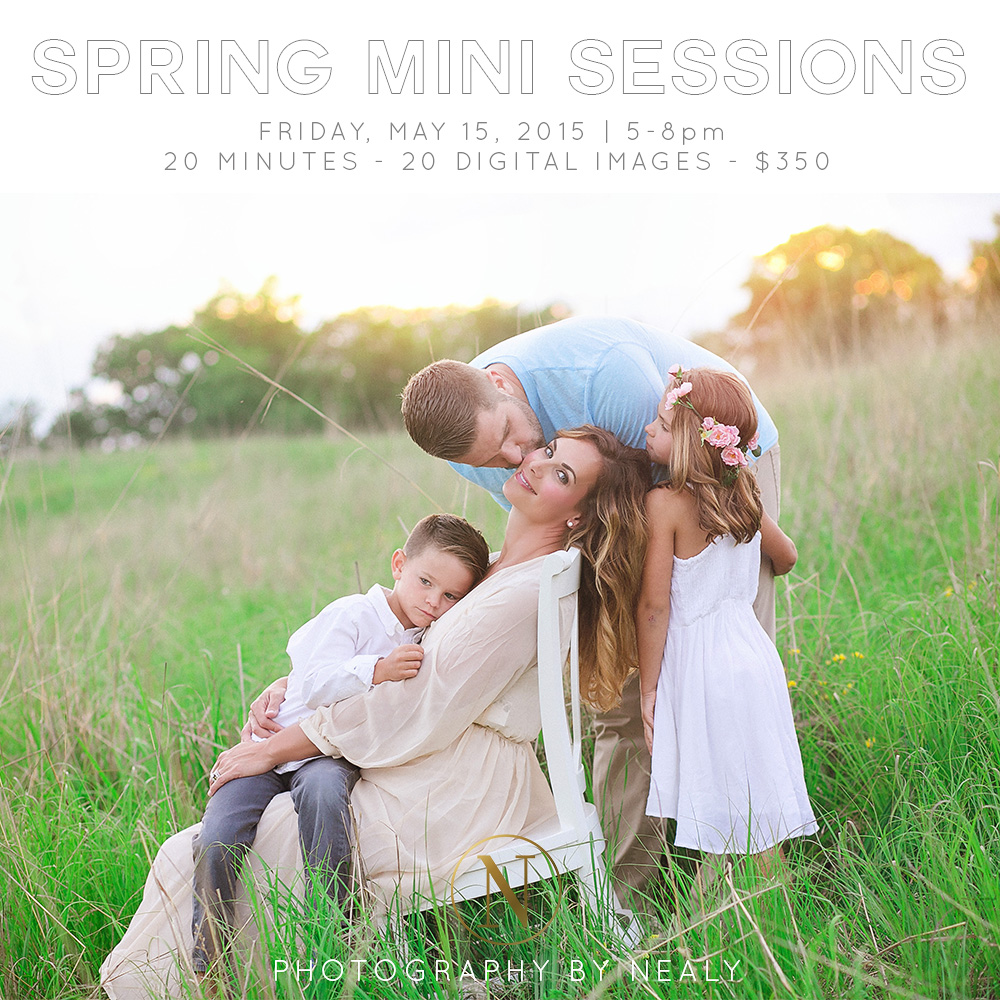 spring 2015 mini sessions