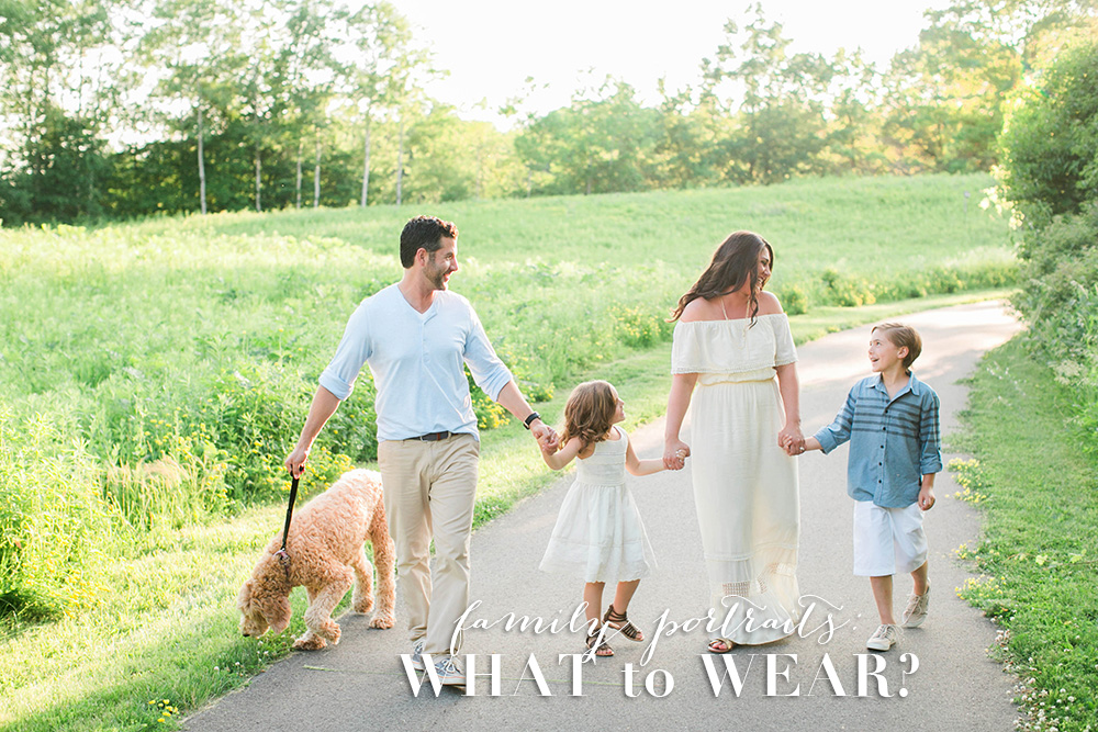 family portraits what to wear guide